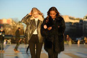 Mix and Match jaket, cocok meski dalam cuaca dingin maupun panas!