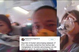 4 Daftar informasi hoax tentang insiden Lion Air JT-610
