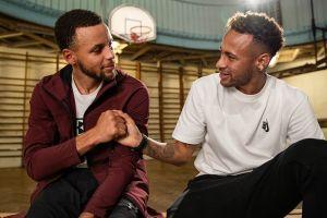 Ini lho keseruan Steph Curry vs Neymar ngobrol soal karir dan keluarga