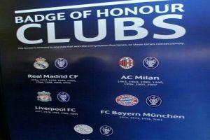 Prestisius, hanya 6 klub ini yang berhak pakai UEFA Badge of Honour