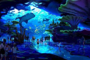 Ini lho 6 aquarium terbesar yang ada di dunia