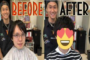 15 Foto sebelum vs sesudah cowok potong rambut, bakal pangling deh