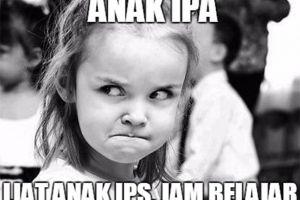10 Meme kocak anak IPA VS IPS ini bikin nostalgia