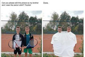 15 Orang ini minta fotonya diedit, hasilnya bikin ngakak