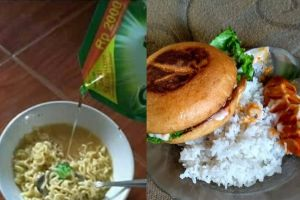 8 Foto absurd menikmati makanan ala orang Indonesia ini bikin ngakak
