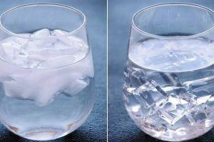 5 Cara sederhana membedakan es batu dari air mentah dan matang