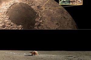 Pertama dalam sejarah, negara ini injakkan kaki di sisi gelap bulan