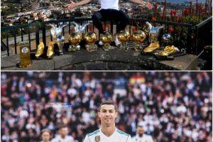 Ulang tahun ke-34, ini perjalanan hidup dan capaian Cristiano Ronaldo