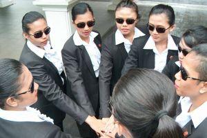 Tak hanya cantik, 6 bodyguard wanita ini punya kemampuan mumpuni