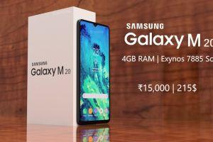 Samsung Galaxy M20, ponsel berspesifikasi tinggi & harga terjangkau