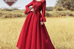 6 Keunikan di balik gemerlapnya gaun berwarna merah