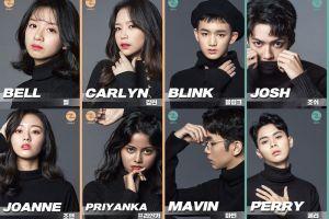Z-Girls dan Z-Boys, 2 idol group yang membernya dari berbagai negara