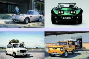 4 Mobil klasik ini dirancang menyerupai binatang liar, keren abis