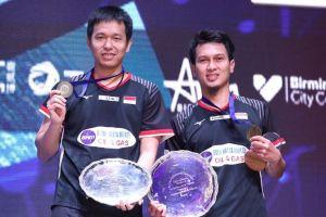 Hendra/Ahsan juara All England, Presiden Jokowi beri selamat