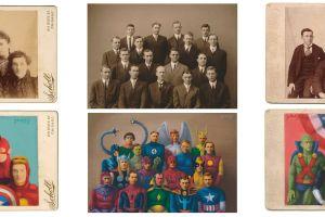 Pelukis ini ubah 13 potret kuno jadi lukisan superhero, retro abis