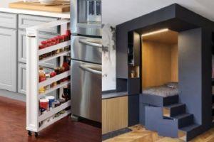 14 Ide cerdas ini bisa menghemat ruang di apartemen kecilmu