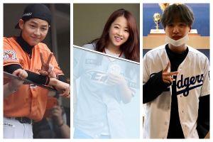 6 Seleb ternama Korea Selatan ini jadi penggemar olahraga baseball