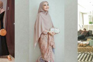 10 Inspirasi gaya busana Zaskia Sungkar ini bikin Ramadanmu makin kece
