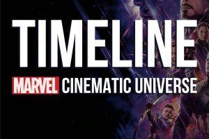 Begini timeline yang ada dalam Marvel Cinematic Universe