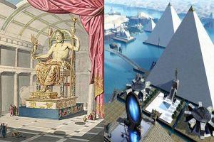 Begini wujud 7 keajaiban dunia kuno pada masa kejayaannya