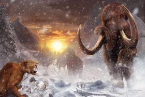 10 Fakta unik tentang Zaman Es/Ice Age, ada zaman Warm Ice Age lho