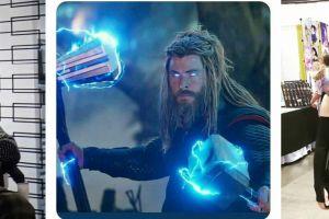 10 Potret kocak ini buktikan Thor tetap keren meski berbadan gemuk