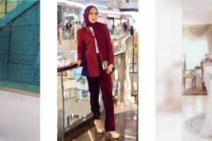 Lebaran tampil gaya dengan busana muslim ala 10 artis ini