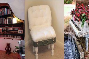 17 Barang bekas ini bertransformasi jadi perabot baru, kreatif banget