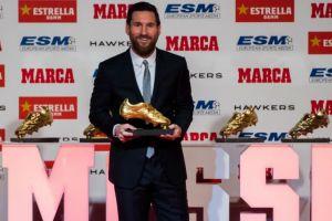 Lionel Messi kembali raih gelar European Golden Boots