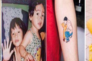 15 Tato ini punya kenangan indah di baliknya, kisahnya bikin mewek