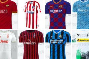 Inilah seragam sepak bola baru tim Eropa musim 2018-19