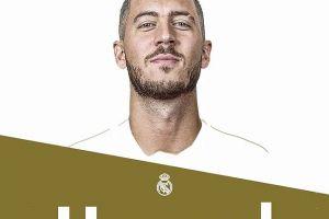Eden Hazard resmi jadi pemain Real Madrid, nilai transfernya fantastis