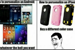 10 Meme kocak Android VS iPhone ini legend banget, bikin tepuk jidat