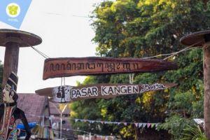 Sudah resmi dibuka, yuk bernostalgia di Pasar Kangen Jogja