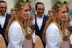 Jarang diumbar, ini 6 foto bahagia Ario Bayu dan istrinya usai menikah