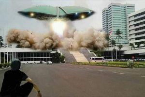6 Foto editan kocak ini gambarkan saat ibu kota pindah dari Jakarta