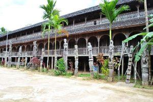 3 Keunikan Rumah Lamin, rumah adat Kalimantan Timur