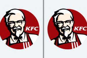 Sekilas nampak sama, ternyata ada perbedaan dari logo merek ini