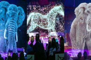 Tanpa menyiksa hewan, sirkus di Jerman ini gunakan teknologi hologram