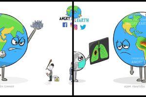 10 Ilustrasi ini gambarkan bagaimana kondisi Bumi kita sekarang