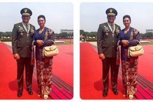6 Selebritas wanita ini menikah dengan polisi dan tentara