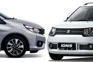 Perbandingan keunggulan Honda Brio Rs CVT dan Suzuki Ignis GX AGS