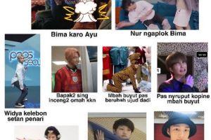 9 Meme kocak pemeran KKN di Desa Penari ini bikin tepuk jidat