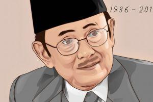 5 Hal yang dapat dikenang dari sosok BJ Habibie, Presiden ke-3 RI
