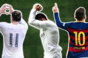 Ini makna di balik selebrasi unik 8 bintang sepak bola dunia