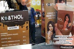 KO & THOL, merek kopi milik Lucinta Luna yang tuai kontroversi