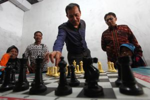 Melongok akhir pekan pecatur disabilitas di Sleman, Yogyakarta
