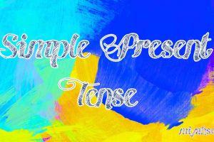 Rumus Simple Present Tense beserta fungsi dan contohnya