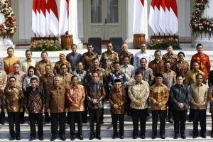 Inilah daftar menteri Kabinet Indonesia Maju 2019-2024