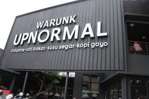 4 Cara Warunk Upnormal sampai menjadi industri makanan besar
